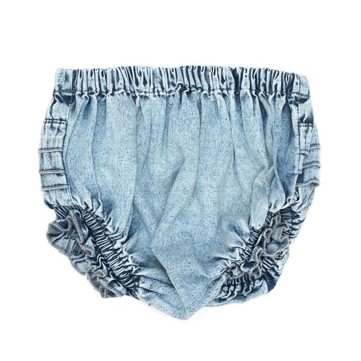Children of the Tribe Chambray Denim Bloomers  Boho Baby Clothes  Tiny Style Australia