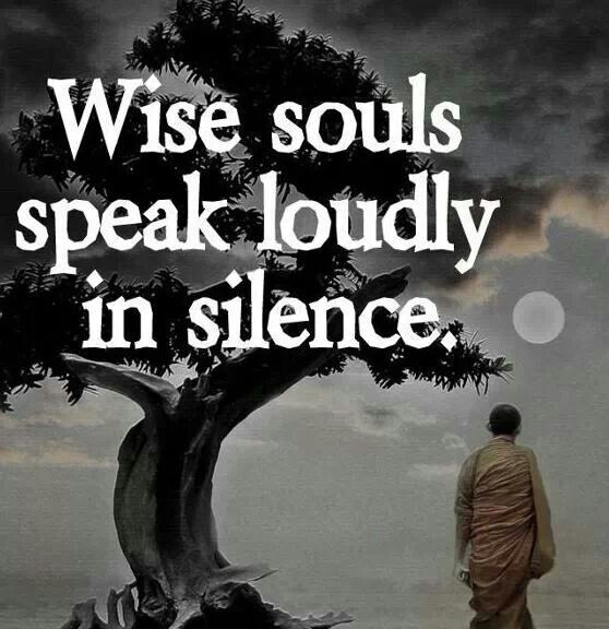 No one can hear the whisper of your soul