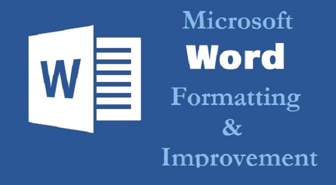 Have many Word or Excel files in need of formatting? It can be done easily. www.mrsliwka.com/#portfolio  #word #microsoftword #formatting