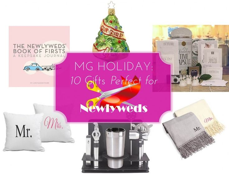 MG Holiday: 10 Gifts Perfect For Newlyweds #gifts #holidaygifts #newlyweds