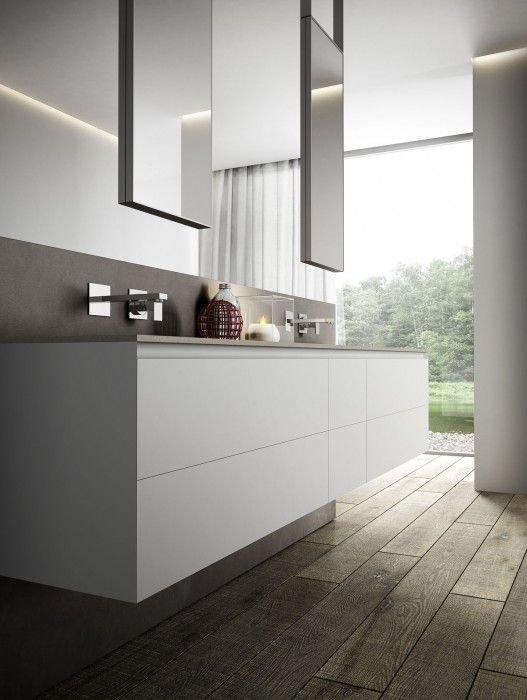 Render fotorealistici bagni moderni Cubik by Idea Group ...