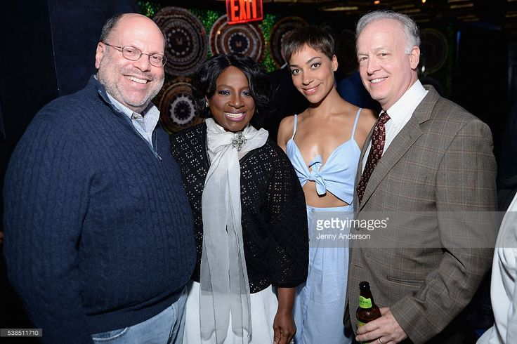 Scott Rudin, LaTanya Richardson, Cush Jumbo and Reed Birney attend the Tony Honors Cocktail Party presenting the 2016 Tony Honors For Excellence In The Theatre and honoring the 2016 Special Award recipients at Diamond Horseshoe on June 6, 2016 in New York City.