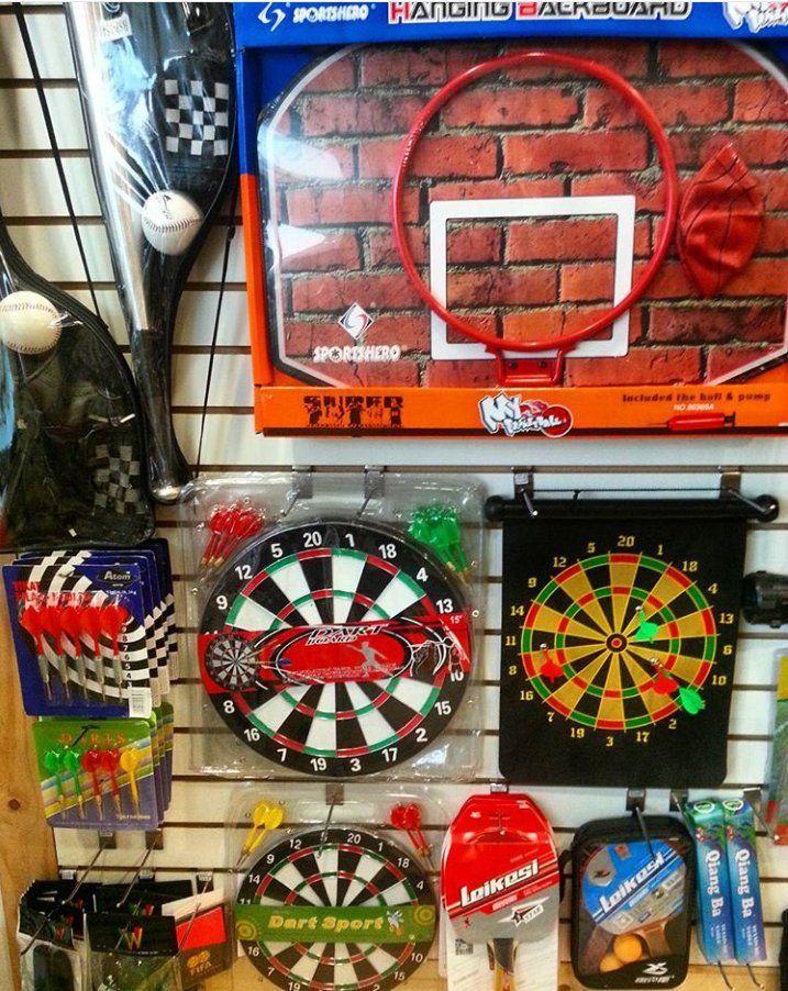 """Dardos - Kit de Basket - kit de Béisbol - kit de tablas y políticas de pin-pon y muchas cosas más que tenemos en nuestras tiendas situadas en los C.C. SantaFe Local:4144 Tel: 3214962 WhatsAap:3103868555 C.C. Monterrey Local:135 Tel:2688792 WhatsAap: 3044904449 VISITANOS... O en nuestras Redes Sociales como @GoGlobalOption y en Facebook: """"Encuentralo Todo"""". TE ESPERAMOS #GoGlobal #GoGlobalOption #Aventura #Pesca #Juegos #Dardos #Beisbol #Basket #kit"""