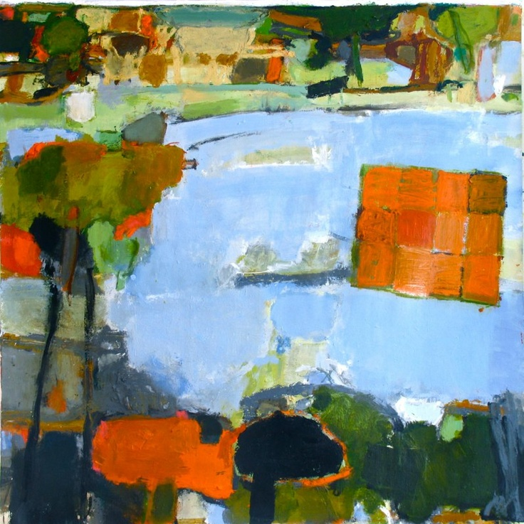 Caroline Havers, AWITP#11 The Round Pond Getting Ready for Autumn