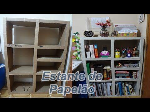 PRATELEIRA FORTE DE PAPELÃO / SHELF STRONG CARDBOARD / REPISA FUORT de CARTÓN - YouTube
