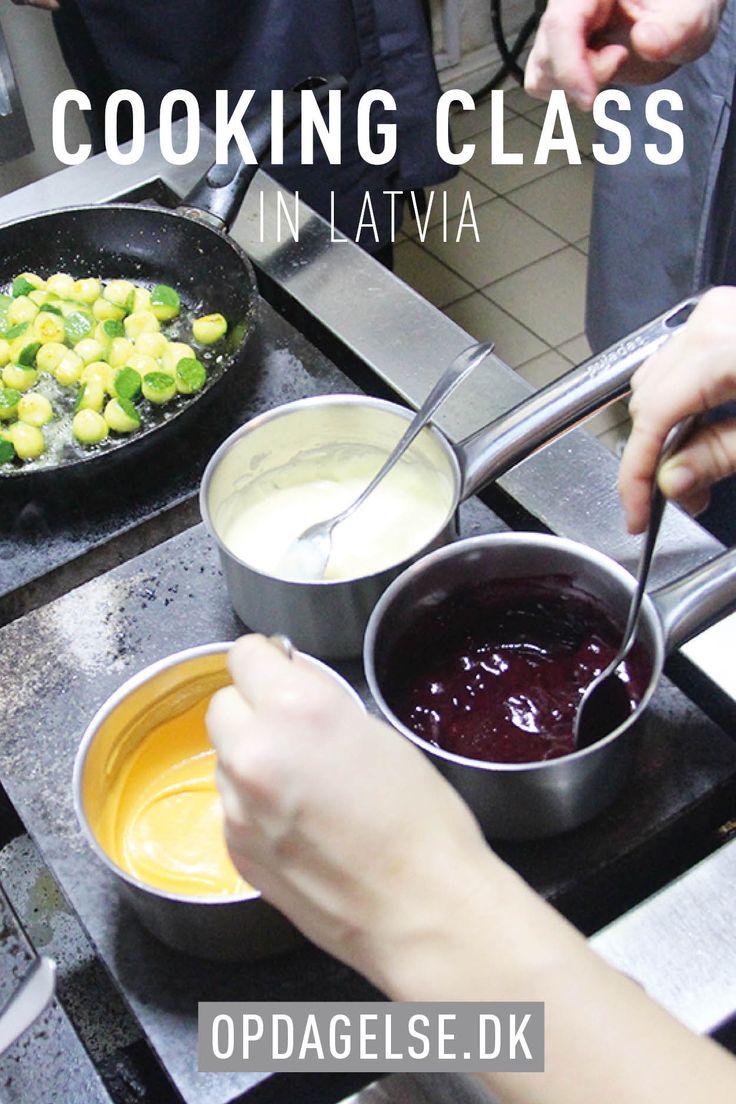 Latvian cooking class