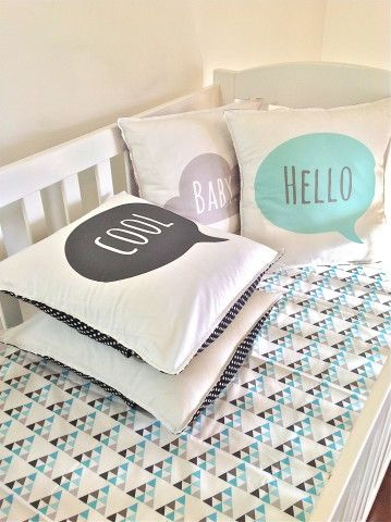 Custom word Cushion... @Jackie Gregory Janelle Designs , this would be cute for your kiddos!!!