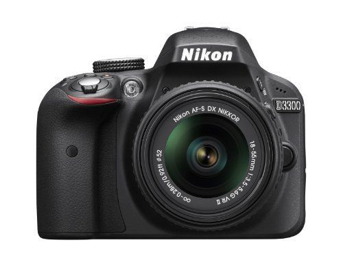 Nikon D3300  18 - 55mm f/3 5 -5.6 G VR II DSLR Cámara DX ... https://www.amazon.com.mx/dp/B00HQ4W1QE/ref=cm_sw_r_pi_dp_sRqwxb9RT14PG