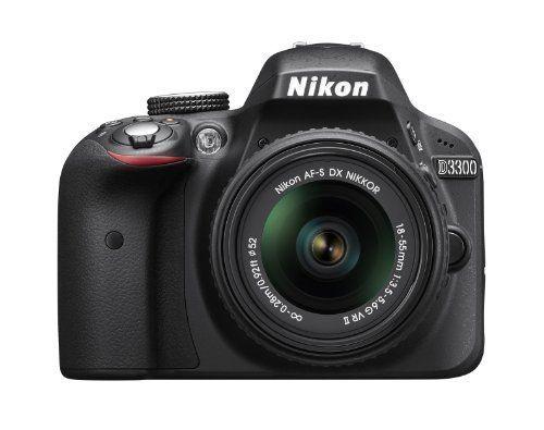Nikon D3300  18 - 55mm f/3 5 -5.6 G VR II DSLR Cámara DX ... https://www.amazon.com.mx/dp/B00HQ4W1QE/ref=cm_sw_r_pi_dp_sRqwxb9RT14PG