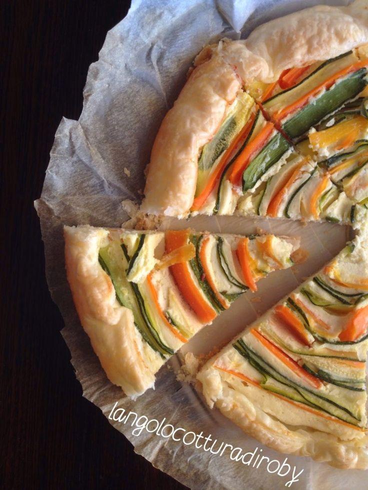 Torta salata zucchine/carote | Angolo cottura di Roby
