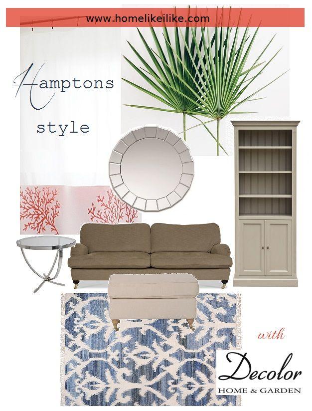 Inspiracje dla pięknego domu: kolaż konkursowy z produktami ze sklepu Decolor.pl; autor: homelikeilike.com