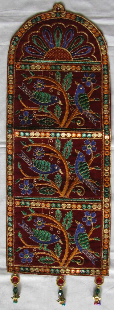 Indian (Kutchi) Handicrafts,Ethnic,Traditional, wall hanging/ letter box
