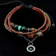 Latest genuine leather bracelets, just released... gorgeous - Only $32.95