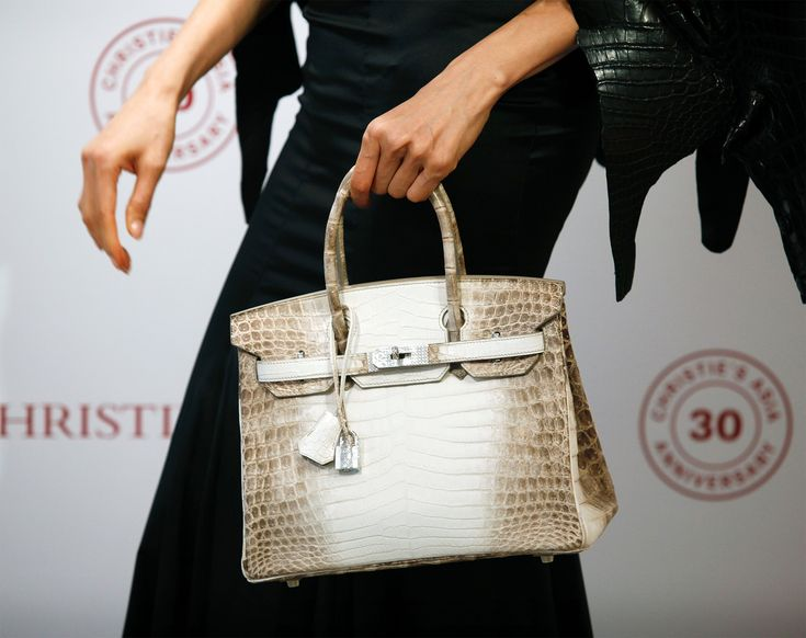 A Birkin Bag Just Sold for More Than $300,000 at Auction, Making It the Most Expensive Handbag—Ever! from InStyle.com