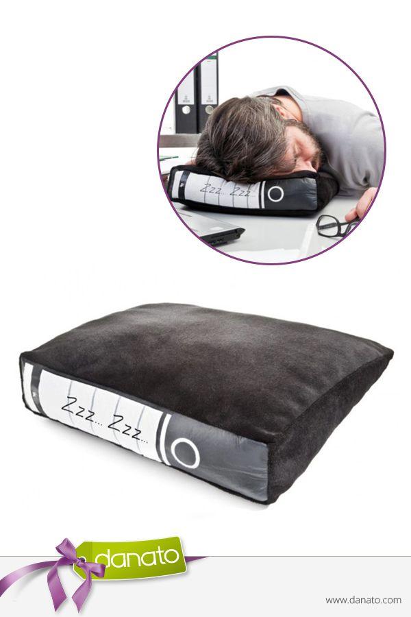 Happy Büro-Schlaf! #danato #gadget #powernapping #büro #kissen