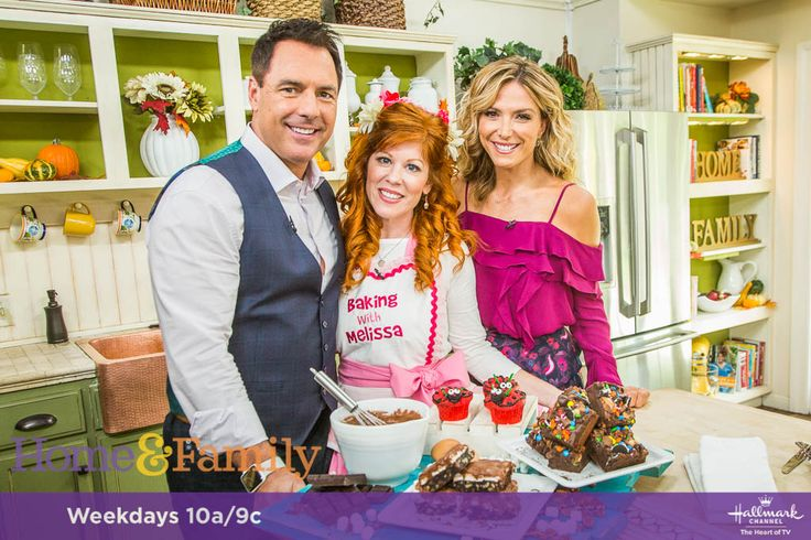 Melissa of Baking with Melissa will be appearing on The Home and Family Show on Monday, September 18th, 2017 on The Hallmark Channel!