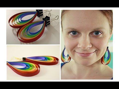 501 best Quilling - Paper Bead Earrings 3 images on Pinterest ...