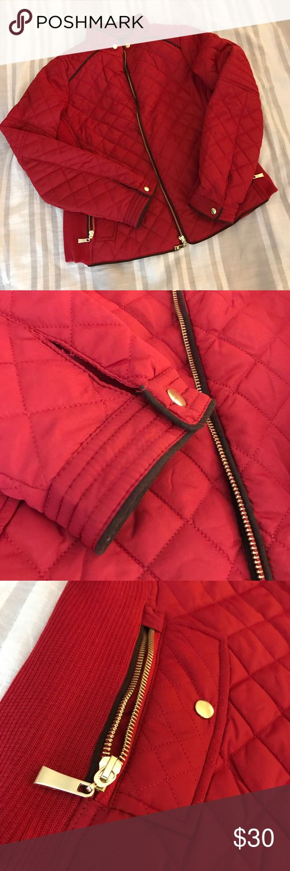 Red Puffer Jacket NWT — Never Worn  Brand new red puffer jacket.   Open to offers 😊 Red Dress Boutique Jackets & Coats Puffers