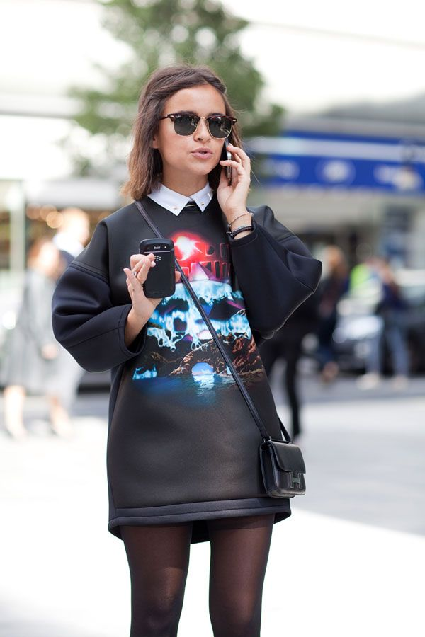 STREET STYLE SPRING 2013: LONDON 2013 - Further proof of the Balenciaga