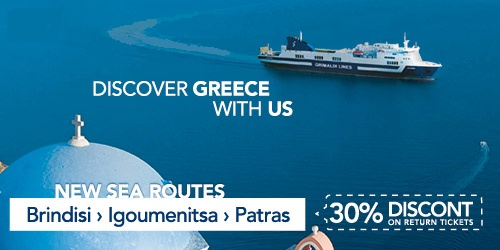 Every day to #Brindisi #specialferryoffer -30% on the return trip with #GrimaldiLines  Book online www.onferry.com