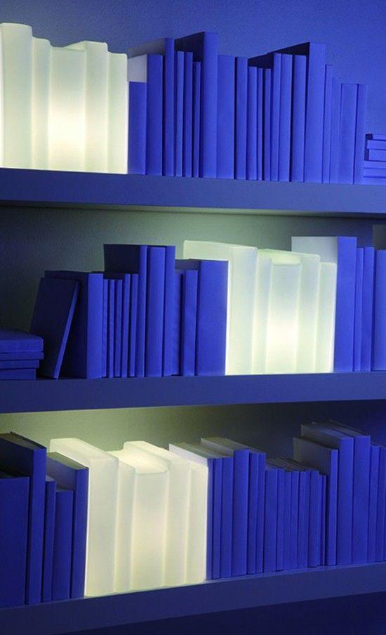 #Bookshelf #lamps // #Lampen Füru0027s #Bücherregal