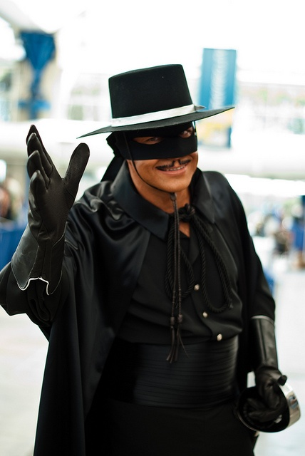 Zorro Comic Con 2010 by sdoorly, via Flickr