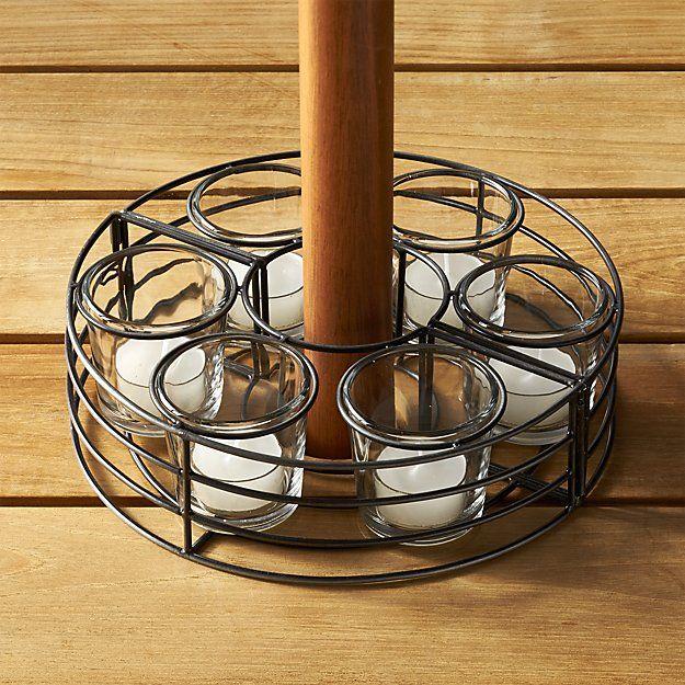 Umbrella Tealight Centerpiece | Crate and Barrel