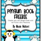 {FREEBIE} Your students will have fun researching and learning all about penguins while compiling their very own penguin book with nonfiction text features