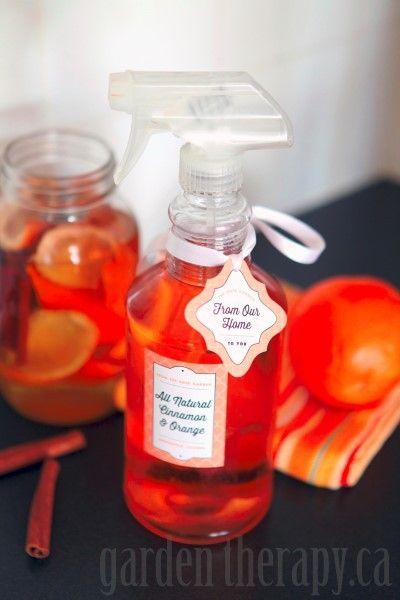 Make your own Vinegar and Orange all Natural Cleaning Spray
