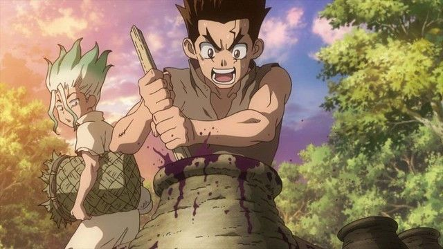 Dr Stone Anime Previewed In A Pair Of Petrifying Promos Anime Popular Anime Anime Group