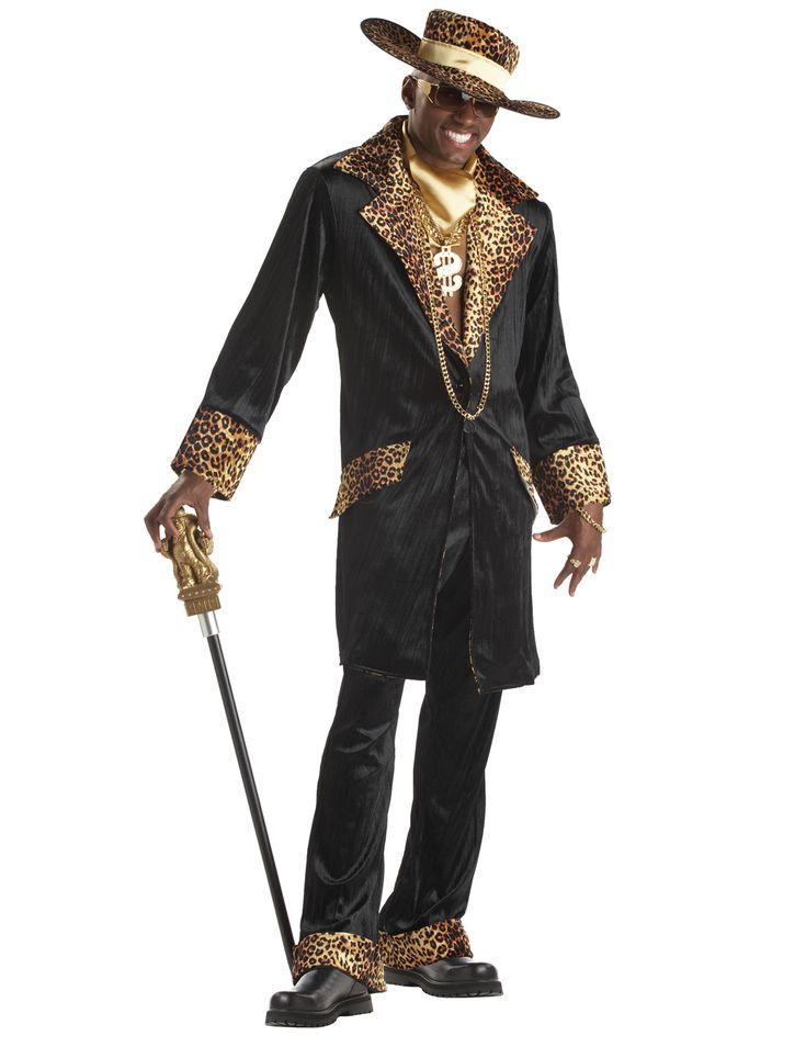 Ga verkleed als een pimp in deze gave carnavalskleding van Vegaoo.nl!