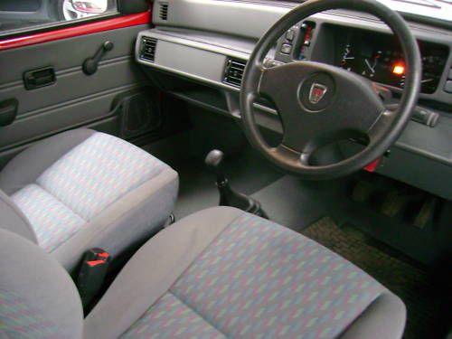 1993 rover metro quest 1.1l red interior