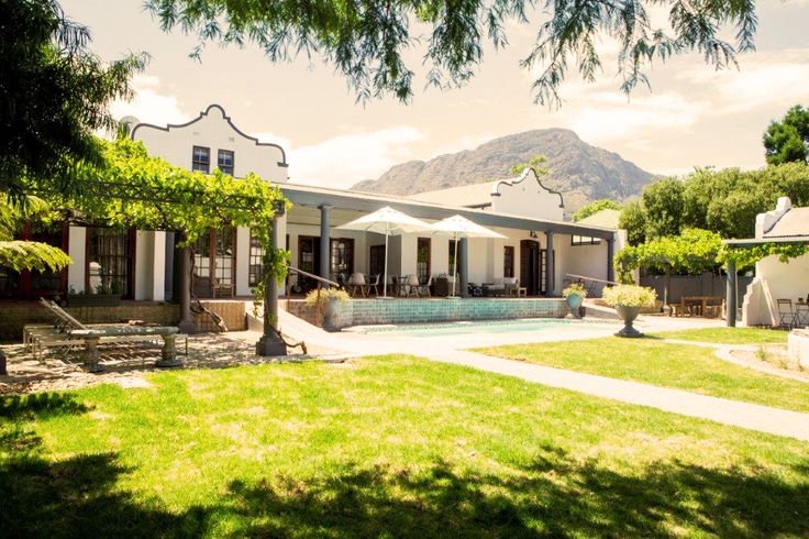 A luxury Franschhoek guesthouse and B&B at the heart of town. Book now: https://www.montdorfhk.co.za/