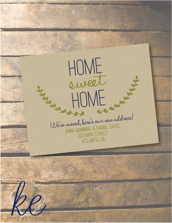 The 25+ best Change of address cards ideas on Pinterest We ve - free change address
