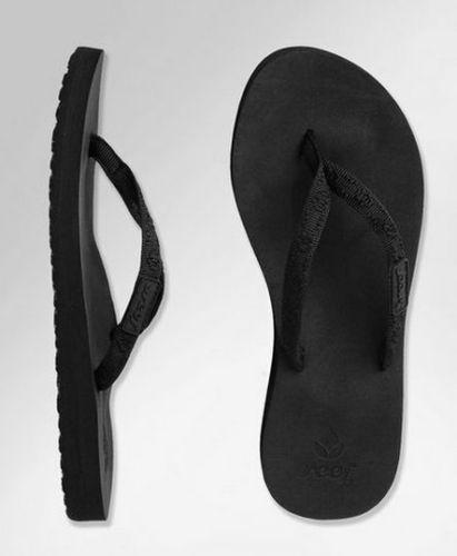 $27 free shipping  Women Reef Ginger Black Flip Flop 1660 BK2   eBay