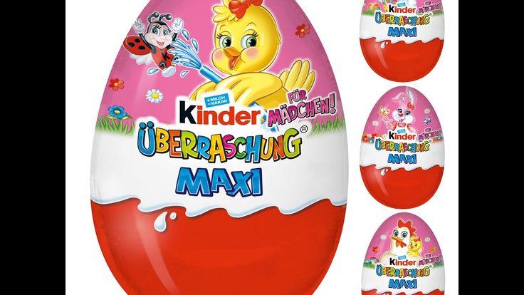 Maxi Barbie Kinder Surprise Vajíčka Hračky Barbie SDB46 Veľkonočné Maxi ...