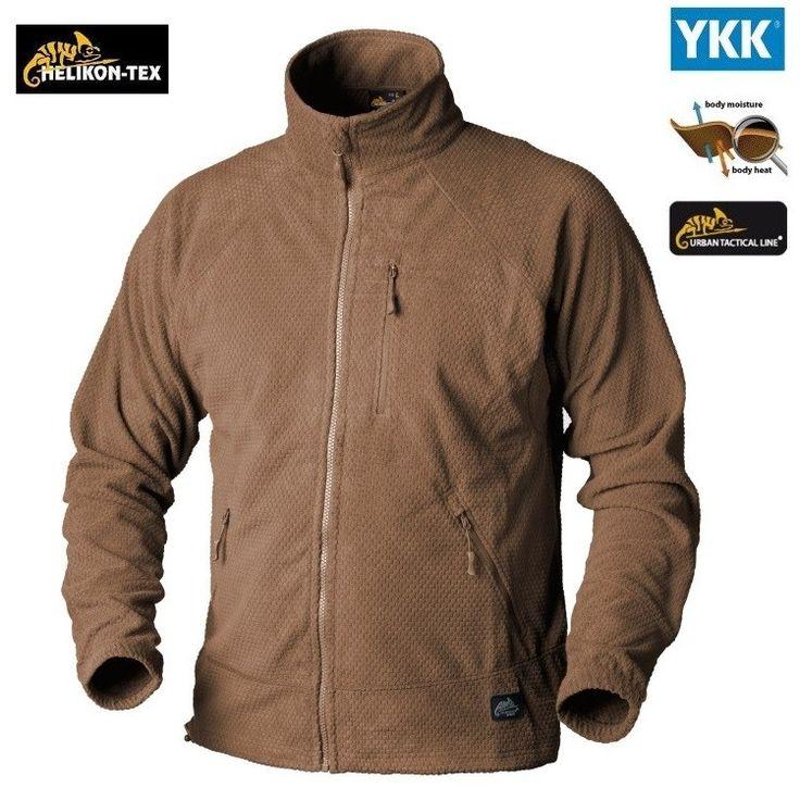 Helikon Coyote ALPHA Tactical Grid Fleece Jacket