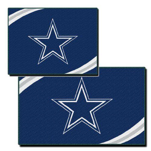 Sisal Rug NFL Dallas Cowboys Two Piece Rectangular Rug Set Northwest http amazon