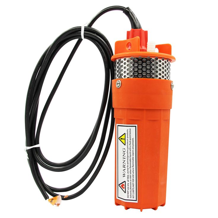 "12 / 24v Solar Powered Submersible; DC Solar Well Water Pump; Voltage: 24V DC Design: 3-Chamber Positive Displacement Diaphragm Pump; Flow Rate: 1.6 GPM (6 LPM);Fitting: 1/2"" Barbed Fitting;Max. Amps:"