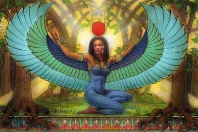 Isis es el nombre griego de una diosa de la mitología egipcia. Su nombre egipcio era Ast, que signif...