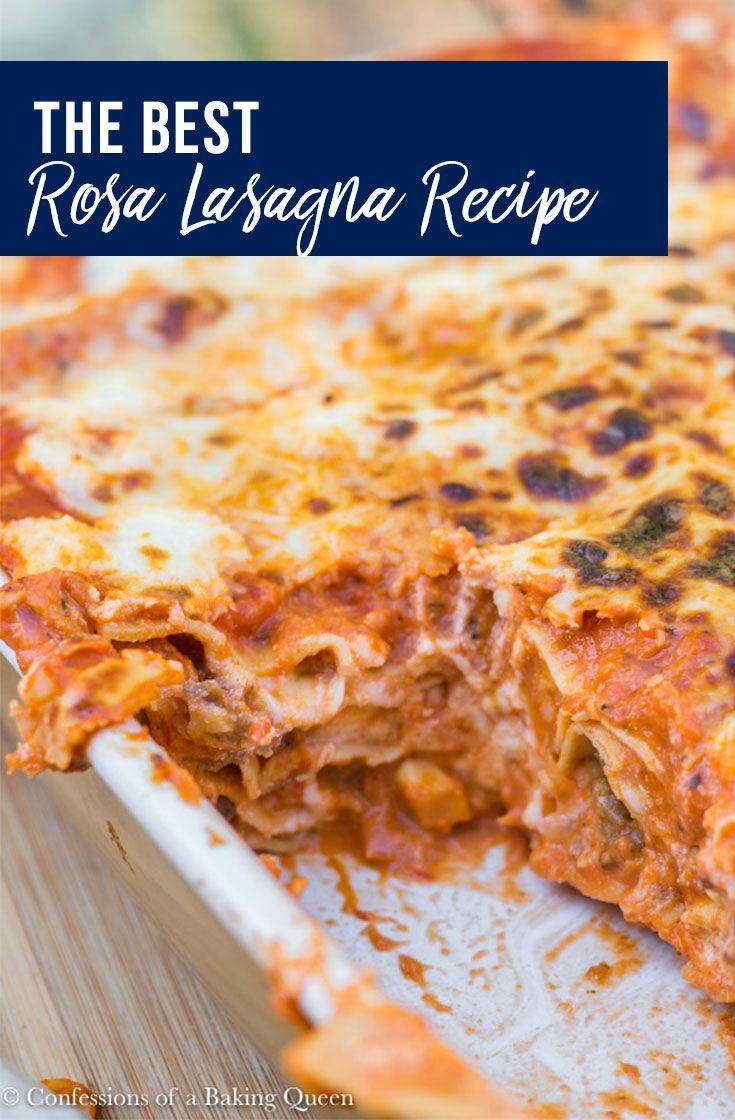 Rosa Lasagna