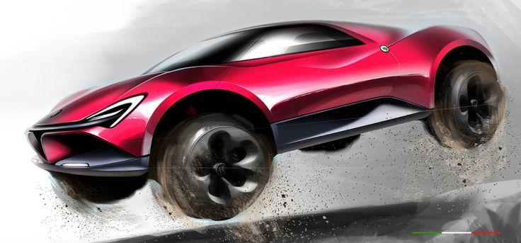 Alfa Romeo Velino Offroad Coupe Design: Chester Lu