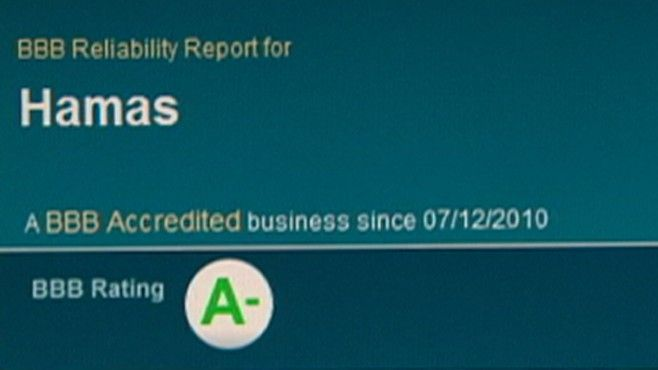 Terror Group Gets 'A' Rating From Better Business Bureau.  If you pay - as a business, BBB will give your company an A rating.  DISHONEST.  DO NOT TRUST Better Business Bureau.