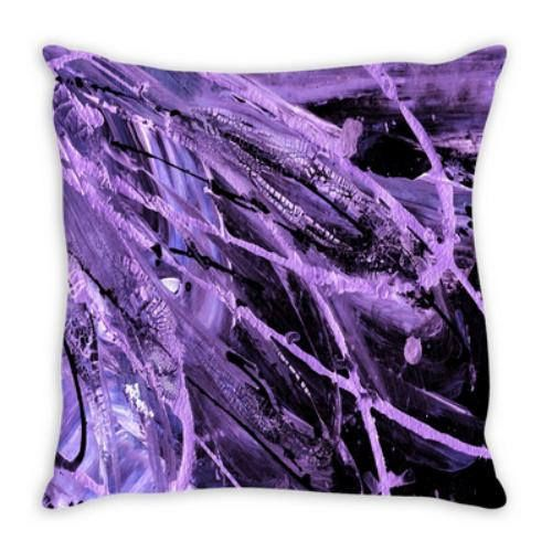 VIOLET SUPERNOVA Purple Suede Throw Pillow Cushion Cover 18x18 20x20 26x26 #homedecor #throwpillow #pillowcover #pillow #purple #purplepillow #decorative #suede #interiors #style #dorm #lavender #home #cushion #decoration #ebiemporium #moderndecor #colorful #glam #europillow