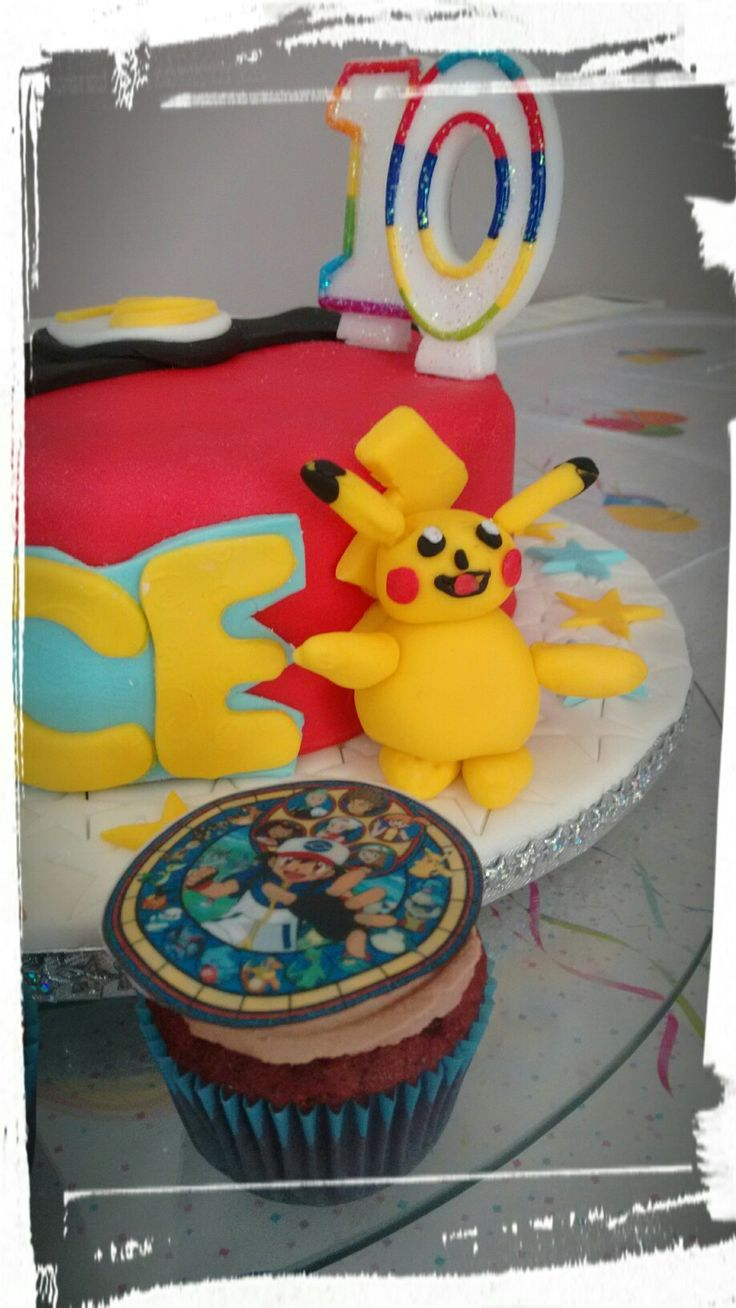 Pokemon cake for my son