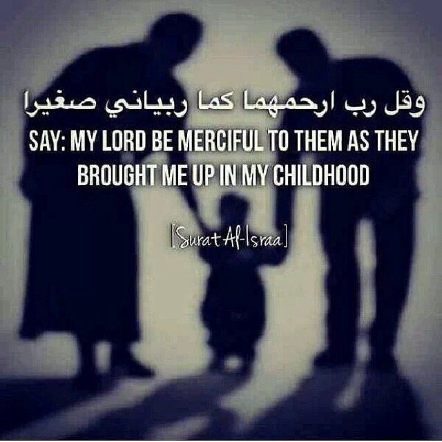 50 Islamic Quotes on Parents with Images-Status of Parents