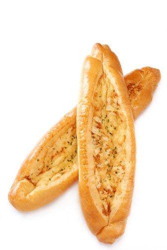 Сырно–чесночный хлеб с зеленью