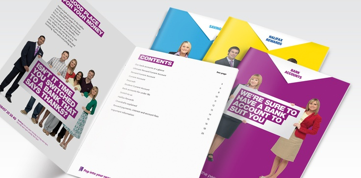A key communication channel for the Halifax brand is the in-branch literature. We are responsible for ensuring consistency in both design and tone of voice.   To accompany the literature we are tasked with creating detailed guidelines and templates covering every eventuality including branding, imagery use and typography.
