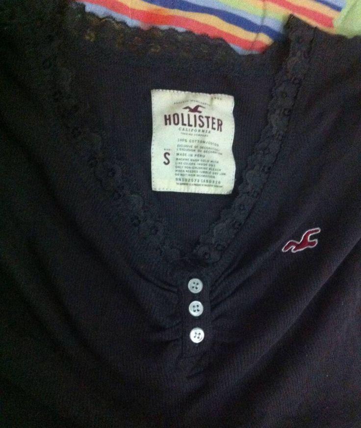 Camisa Hollister - 15381460 | enjoei :p