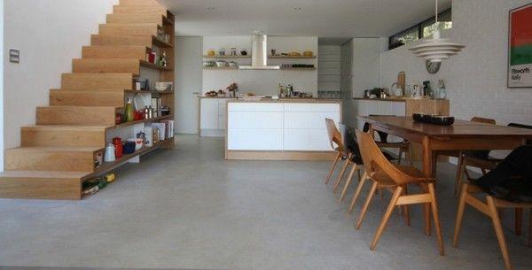 Corkellis House 01 1 750x381 Modern Residence With Scandinavian Design Influences: Corkellis House